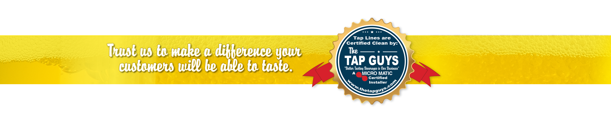 The Tap Guys_Services_Certified Ribbon_update_1